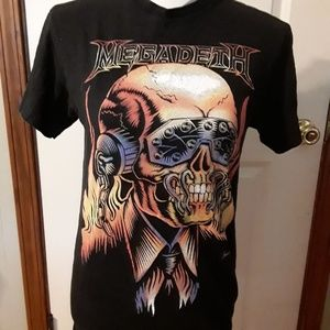 Megadeth Tee. Size S